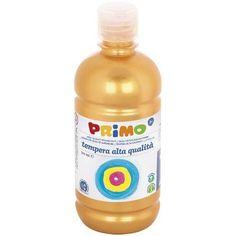 Primo arany színű tempera festék 500 ml műanyag palackban - Szín 920 Ft Ár 1,190 Tempera, Bottle, Flask, Jars
