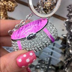 fun, cute, little key chains make me smile :)