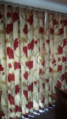 For Sale Pre Owned Black Gold Silver Interlined Eyelet Curtains Each Curtain 51 Quot Wide X 86