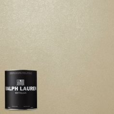 Ralph Lauren Oyster Metallic Specialty Finish Interior   The Home Depot