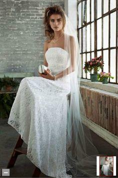 David's Bridal-Style S8551