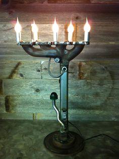Exhaust manifold lamp