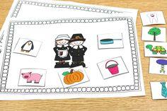 Thanksgiving Day Freebie for Kindergarten!