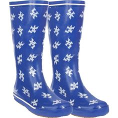 Kentucky Wildcats Women's Royal All-Over Print Rubber Rain Boots Kentucky Sports, Kentucky Wildcats, Kentucky Girls, Uk Wildcats Basketball, Kentucky Basketball, University Of Ky, Go Big Blue, Blue Cats, Big Fashion
