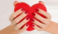 HEART NAIL ART!!!