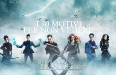 Shadowhuntrers - serie tv - errori - nephilim - Cacciatori di demoni - clary - jace - herondale