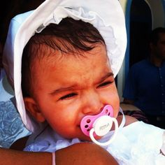 Iridia cried a little bit See her with her custom made pacifier with her name printed Crying, Names, Printed, Children, Young Children, Boys, Kids, Child, Children's Comics