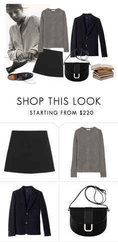 """""""Untitled #103"""" by cloudeprudis ❤ liked on Polyvore featuring Margaret Howell, RED Valentino, Equipment and A.P.C."""