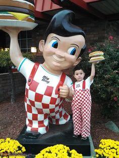 Big Boy from Big Boy Restaurants Halloween Costume lol