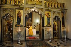 """Not every Catholic is a """"Roman"""" Catholic. There are many Rites in the Catholic Church, Roman is simply the most well known. Here is the interior of a beautiful Byzantine Church (Eastern Catholicism). Other Eastern Catholic Rites include Maronite and Chaldean Catholics."""