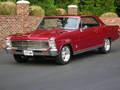 1966 Chevy Nova - love these old Novas they look great in nearly any style of build.