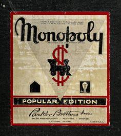 vintage Monopoly