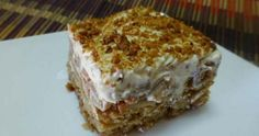 Συνταγή: Μηλόπιτα ψυγείου με κρέμα και μπισκότα