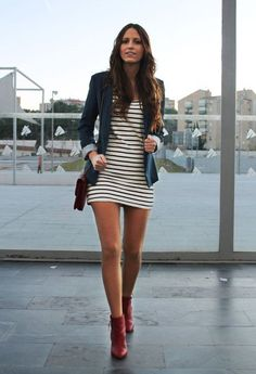 15 Natural Ways on How to Wear Red Ankle Boots 15 Natural Ways on How to Wear Red Ankle Boots Mode Outfits, Casual Outfits, Fashion Outfits, Womens Fashion, Swag Fashion, Latex Fashion, Gothic Fashion, Fashion Pants, Dress Outfits