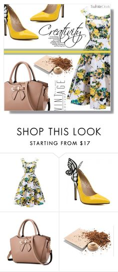 """Creativity"" by fashion-pol ❤ liked on Polyvore featuring Mary Kay and vintage"