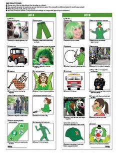 Scavenger hunt at York's St. Patrick's Day Parade #events #parade #yorkpa #stpatricksday