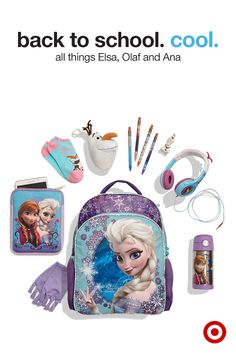 Elsa, Ana, Olaf and the rest of the Frozen family are ready to go back to school, too. Backpacks and notebooks, headphones and outfits make school supplies way cooler. Disney Frozen Nails, Disney Frozen Toys, Disney Princess Toys, Disney Toys, Toy Cars For Kids, Toys For Girls, Kids Toys, Elsa Halloween Costume, Frozen Bedroom