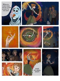 SCORCHED (Frozen graphic novel) Page 7 by RemainUndefined on DeviantArt