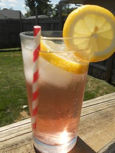 Lemon Cranberry Spritzers