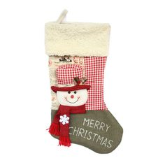 1 Pcs Hot sale Christmas Decoration Gifts Candy Bag Stocking Santa Claus Socks Christmas Tree Ornaments