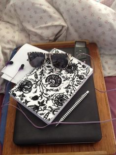 i love writing and drawing this is my sketch and writing book, also shown is my lat top because i use this to write things on and my ipod is there to represent my love for music...