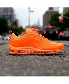 Air Max 97 Hyperfuse Highlighter Orange trainers will let you lead the  fashion trend. Nike 78120745e