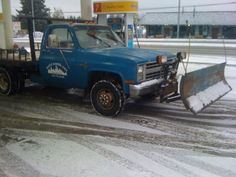 Snow plow ready for service.  Contact sms for a quote! Superiormaintenancesolutions.com