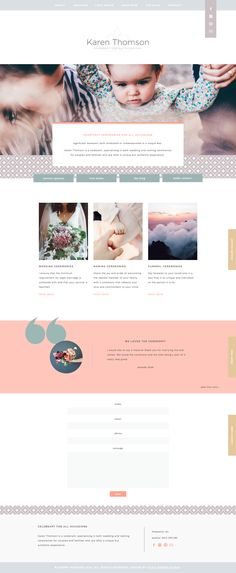 Style Maker Studio | website design, branding, small business, colour palette, brand message, website layout, wedding celebrant, wedding, bride, groom, wedding planning