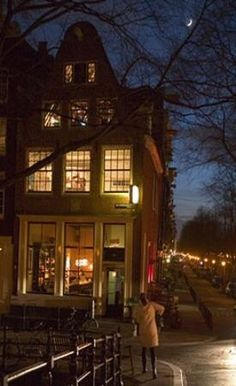 Cafe Tabac 101 Brouwersgracht, Amsterdam, The Netherlands (Jordaan)