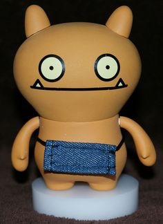 Wage Critterbox Prototype - These figurines were the original prototypes for a project that was to be done by Critterbox.  The project was eventually scrapped and the Uglydoll mini figurines were introduced in a different variation through a new company.  Since they are prototypes, these figurines are made of resin and all the parts are removable; ears, arms, head, etc.  This was to allow for casting of the mold when they would be sent for production.
