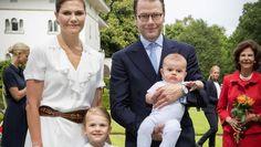 Prinzessin Victoria von Schweden, Ehemann Prinz Daniel und die gemeinsamen Kinder Estelle und Oscar