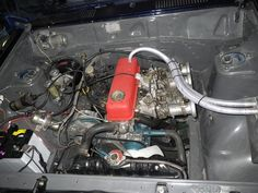 310TS仕様、作業終了 - B110TSサニー,KP61,240ZG,BMW等の製作記(改) Datsun 210, Rally Car, Hot Cars, Subaru, Nissan, Sunnies, Audi, Ideas, Cutaway