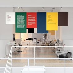 FFFFOUND!   Design Museum Multistorey in Wayfinding / Interior Graphics