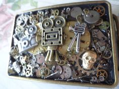 Steam Punk For the Camera Buff Belt Buckle by PipersEmporium, $39.00