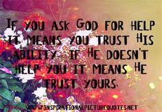 God will answer
