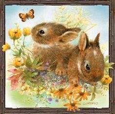 Serviettentechnik Ostern Vintage Easter Korb Tulpen Servietten Napkins 20 St