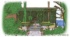 EL CAFÉ DEL JARDíN,  UN REMANSO DE PAZ ROMÁNTiCO