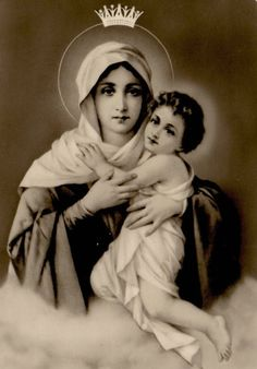 Mater Ter Admirabilis The image of the Mother Thrice Admirable, venerated as the patroness of the Schoenstatt Movement, a Marian movement founded in Germany in 1915. The Schoenstatt Madonna, as the image if often called, is a copy of a painting from 1898 of Our Lady Refuge of Sinners by the Italian artist Luigi Crosio.