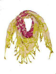 100% bamboo Nepali Bambi Abbie scarf