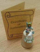 Sterling classic easter egg fairy thimble bone china peridot limited edition