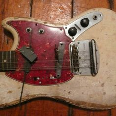 Kevin Drumm's guitar