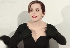Does anyone know wtf Emma Watson is doing here?