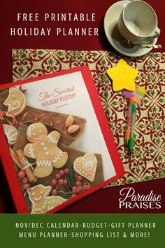 2017 Thanksgiving and Christmas Planning pack - FREE download on site, no email required.
