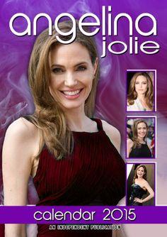 Angelina Jolie Calendar - 2015 Wall Calendars - Celebrity Calendars - Monthly Wall Calendar by Dream International