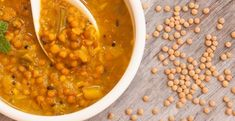 Corn and Turkey Meatball Lentil Soup