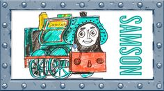 How to Draw Samson ♦ Thomas and Friends ♦ Drawing and Colors Learning vi...