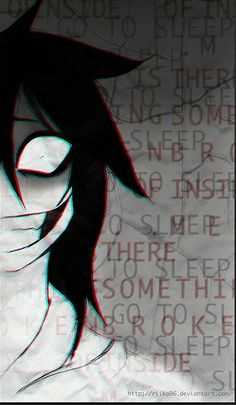 JEFF by RiikoChick on DeviantArt JEFF by RiikoChick Related posts:laughing jack x jeff the killer Irgendwie süß.Adopting The Tiny Creepypastas! Familia Creepy Pasta, Creepy Pasta Family, Jeff The Killer, Creepypasta Wallpaper, Scary Wallpaper, Creepypasta Slenderman, Dark Anime Guys, Creepy Guy, Creepy Drawings