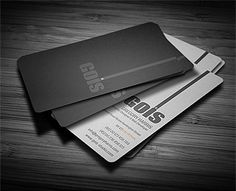 Gois Corporate Business Card by Calwin http://creattica.com