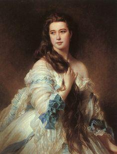 Franz Xaver Winterhalter Portrait of Madame Barbe de Rimsky-Korsakov - Franz Xaver Winterhalter - Wikipedia, la enciclopedia libre