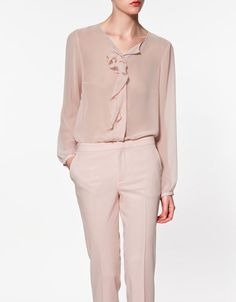 zara.com $60>>love this shade of pink
